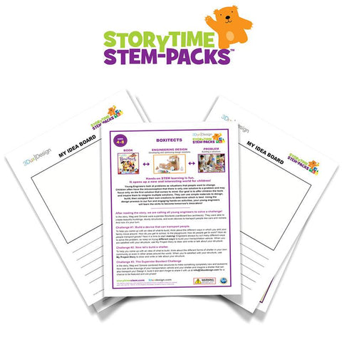 Boxitects Storytime STEM-Pack Family Edition