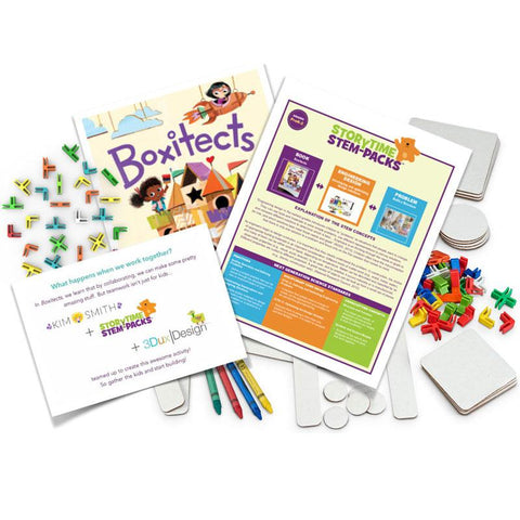 3DuxDesign Storytime STEM-Pack: Boxitects