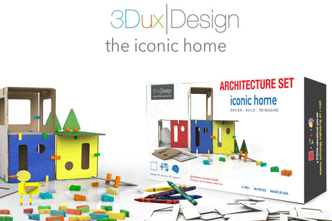 The Iconic Home Architecture Set.university store