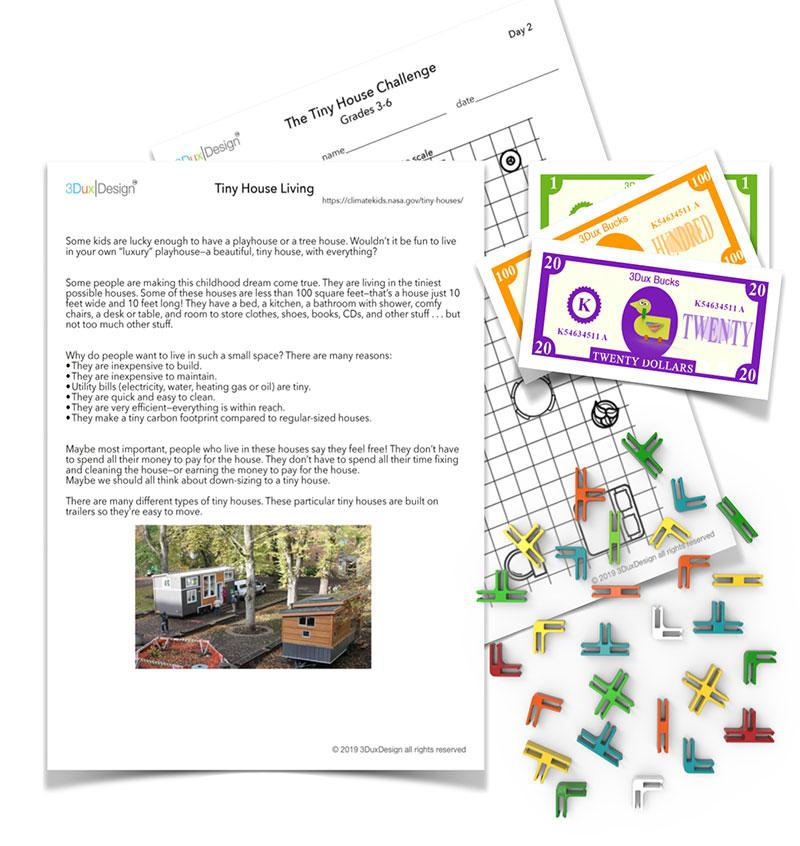 The Tiny House Challenge grades 3-6