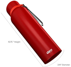 28 oz. Wide Mouth Stainless Steel Sports Bottle