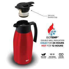 2 Liter Coffee Pitcher w/ 90mm Screw Cap