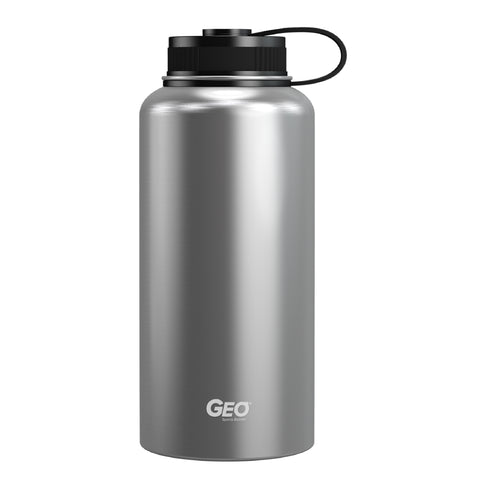 32oz Powder Coated Double Wall Vacuum Insulated Flask, Wide Mouth