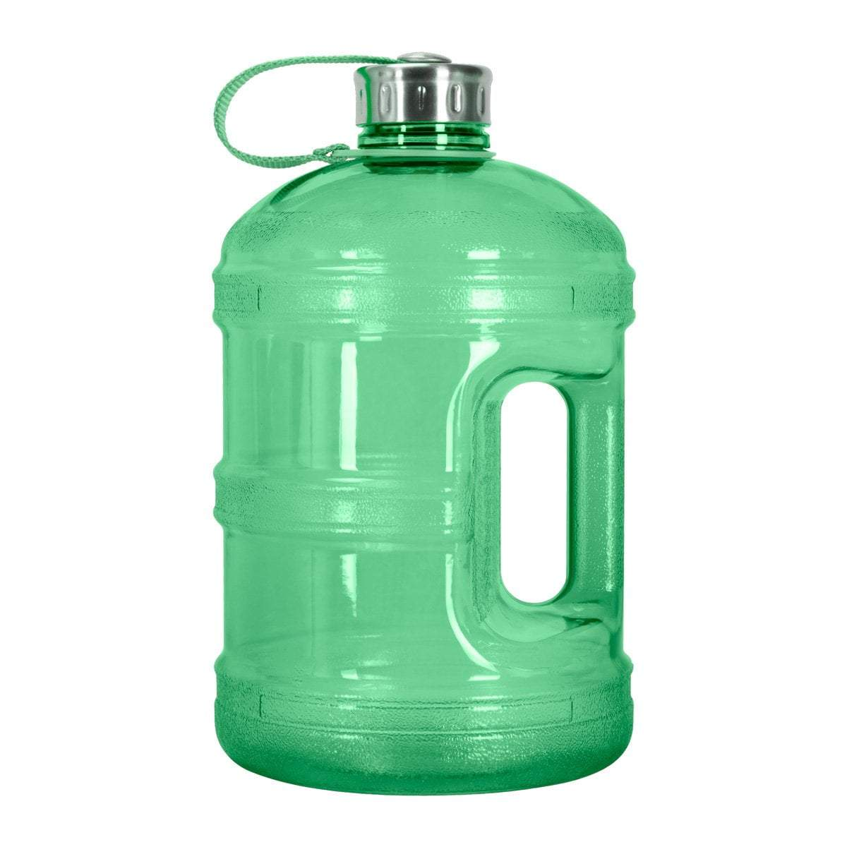 GEO Bottles 1 Gallon BPA FREE Bottle w/ Stainless Steel Cap
