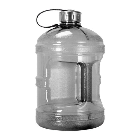 GEO Bottles Black 1 Gallon BPA FREE Bottle w/ Stainless Steel Cap
