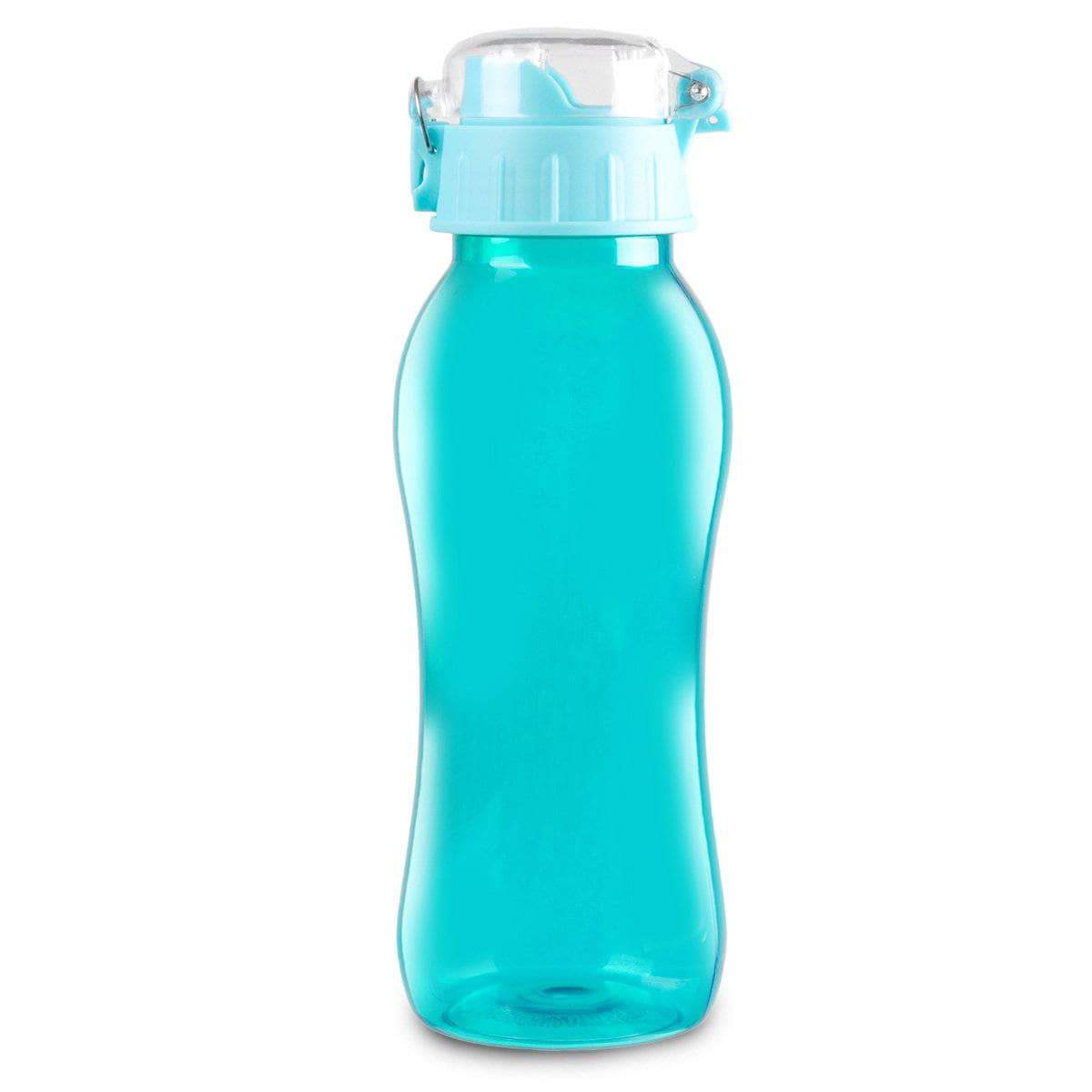 Geo Bottles Bottles Aqua 20oz BPA Free Sports Bottle With Wide Mouth Opening