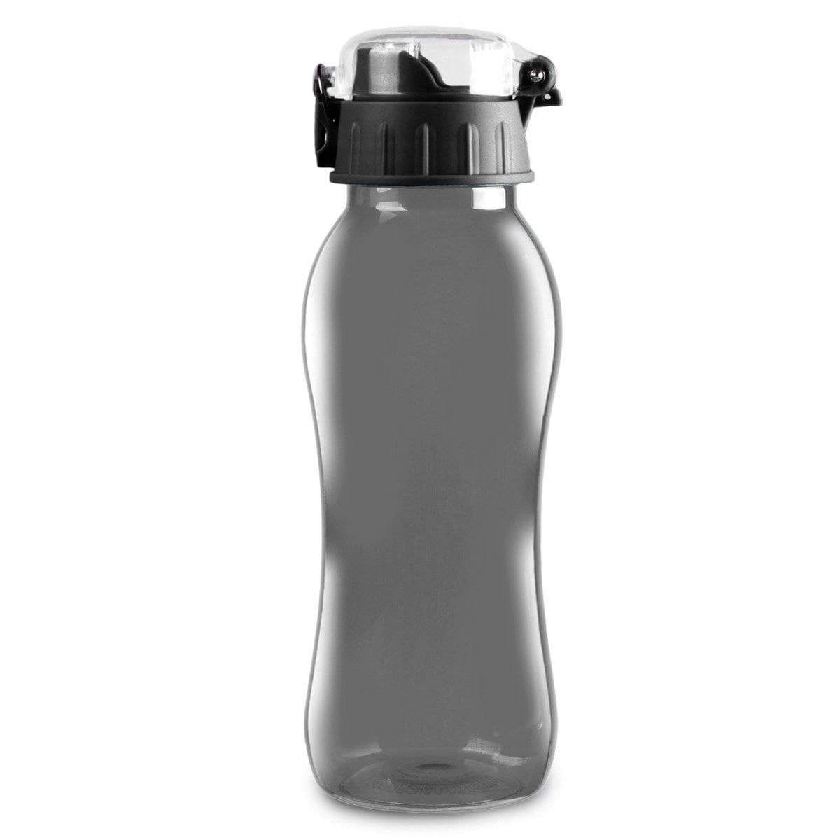Geo Bottles Bottles Black 20oz BPA Free Sports Bottle With Wide Mouth Opening