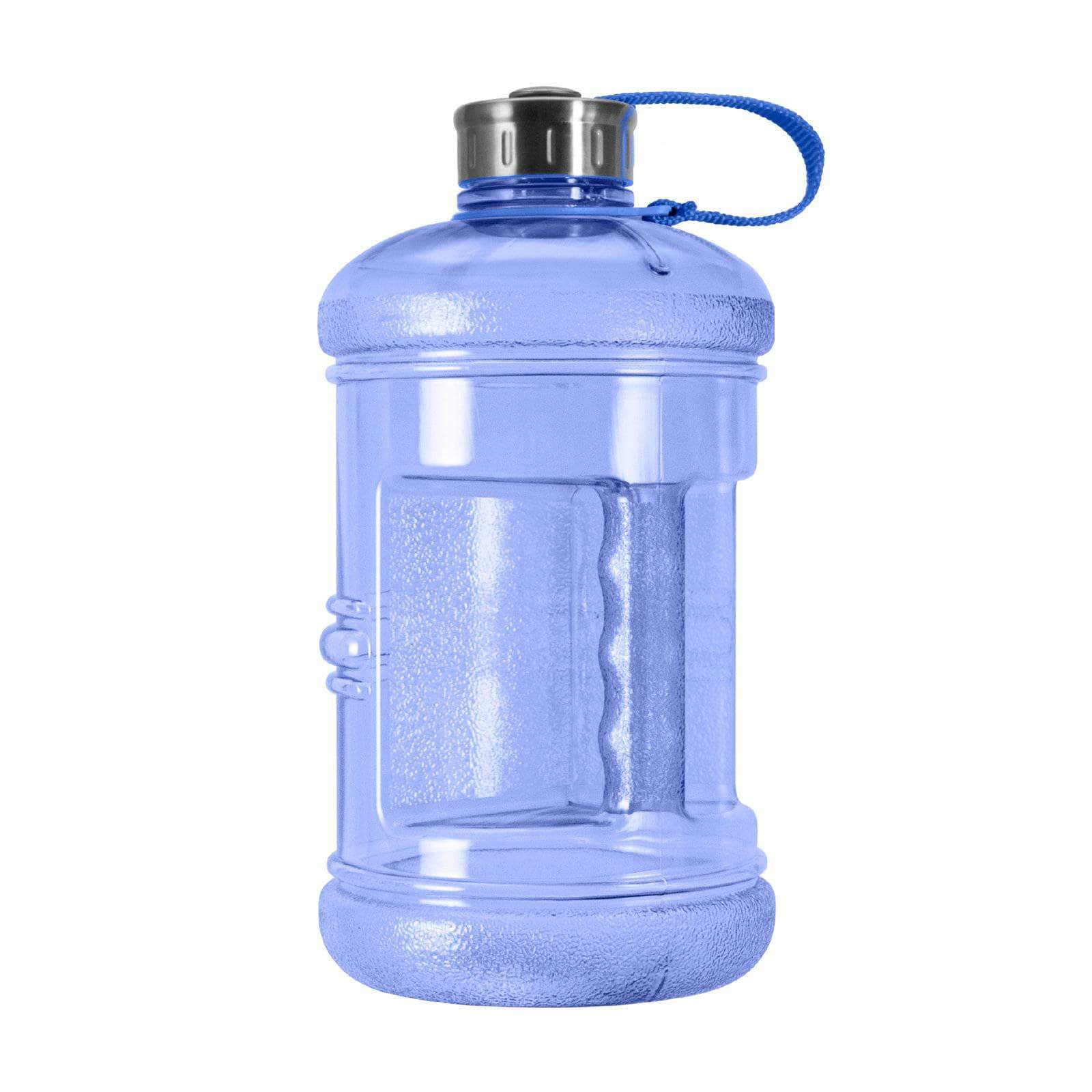 Geo Bottles Bottles Dark Blue 2.3 Litter BPA FREE Bottle w/ Stainless Steel Cap