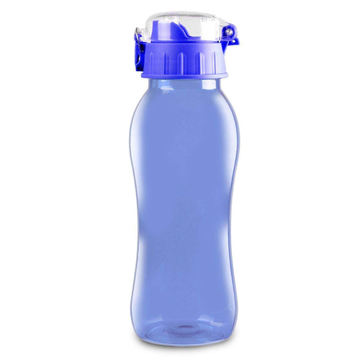 Geo Bottles Bottles Dark Blue 20oz BPA Free Sports Bottle With Wide Mouth Opening