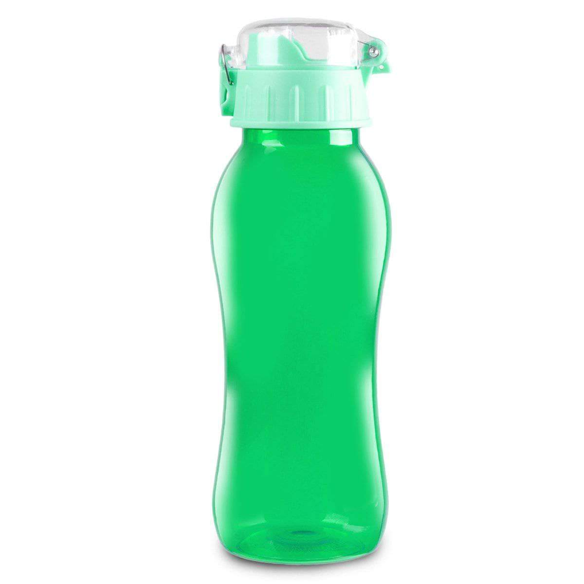 Geo Bottles Bottles Green 20oz BPA Free Sports Bottle With Wide Mouth Opening