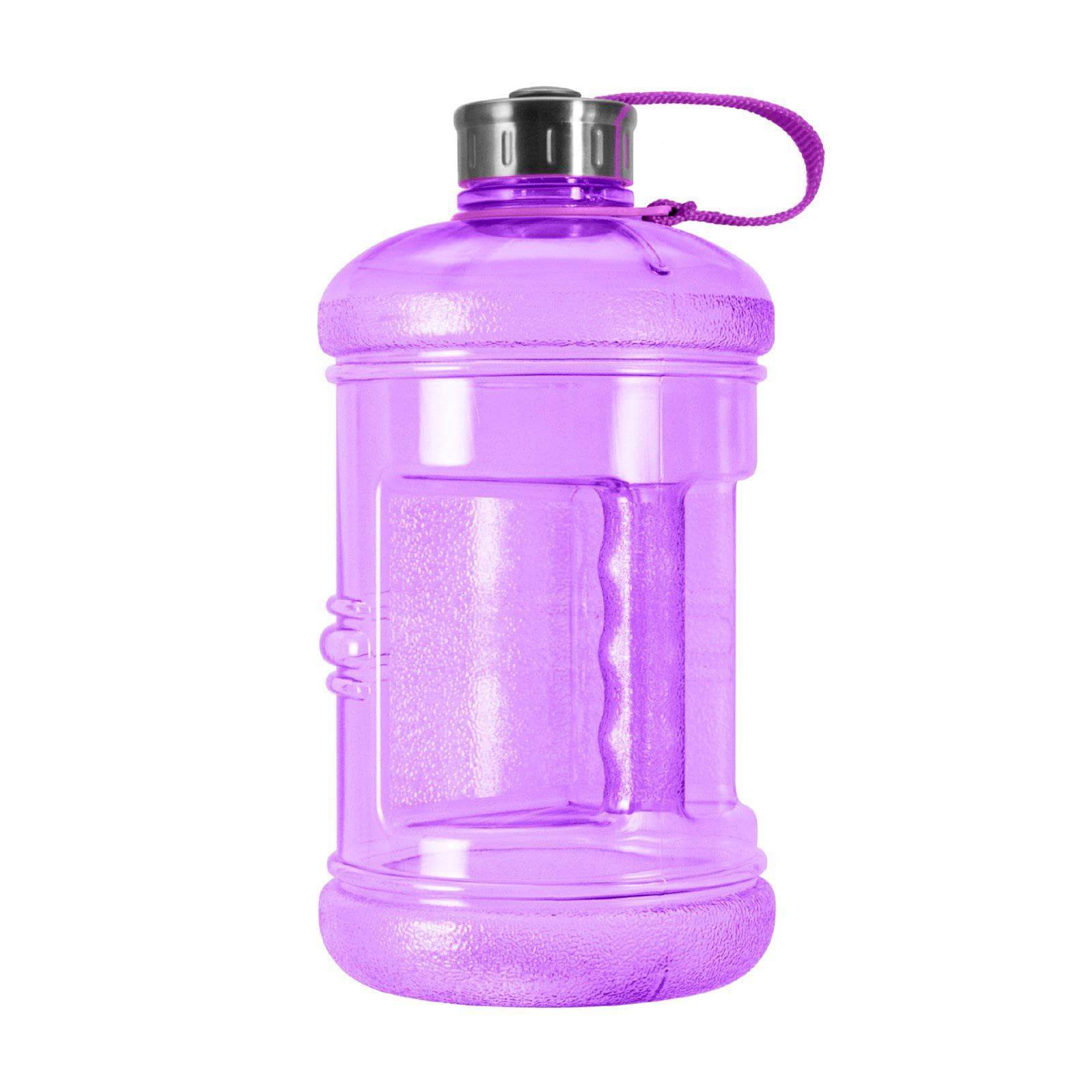 Geo Bottles Bottles Purple 2.3 Litter BPA FREE Bottle w/ Stainless Steel Cap