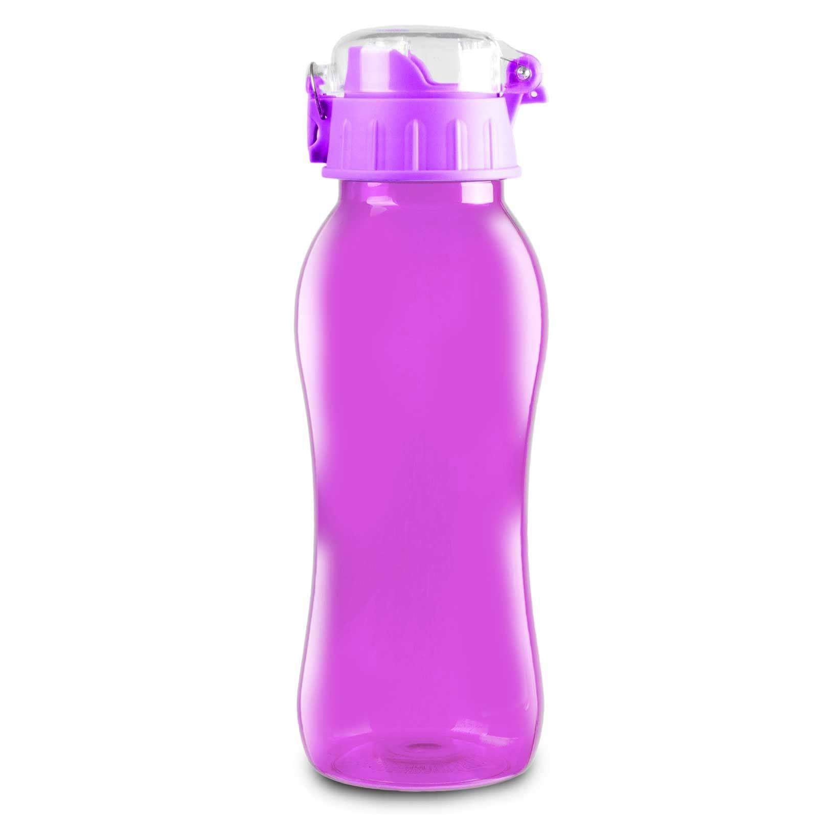 Geo Bottles Bottles Purple 20oz BPA Free Sports Bottle With Wide Mouth Opening