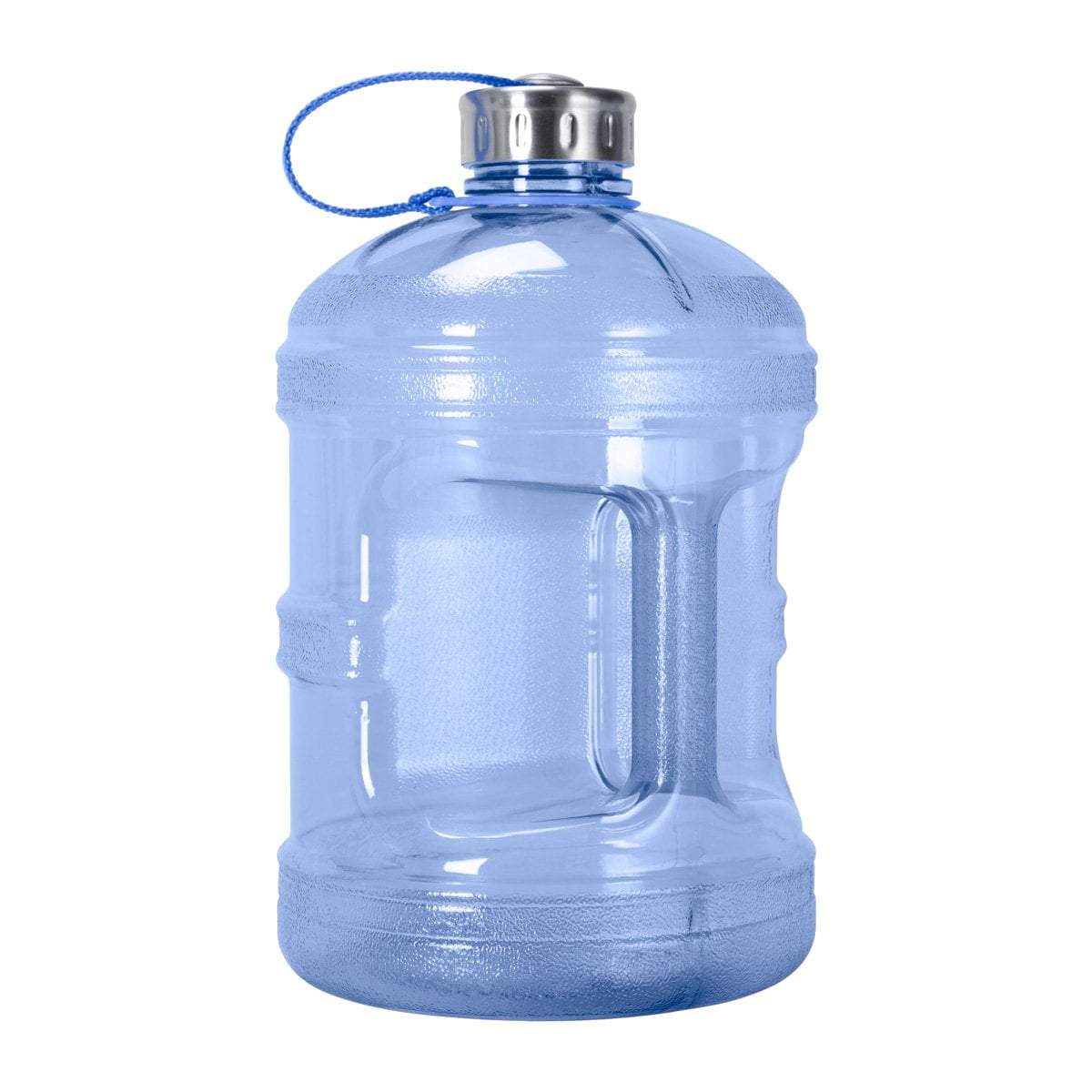 GEO Bottles Dark Blue 1 Gallon BPA FREE Bottle w/ Stainless Steel Cap