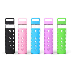 Geo Bottles Glass Bottles 24oz Hot and Cold Glass Bottle