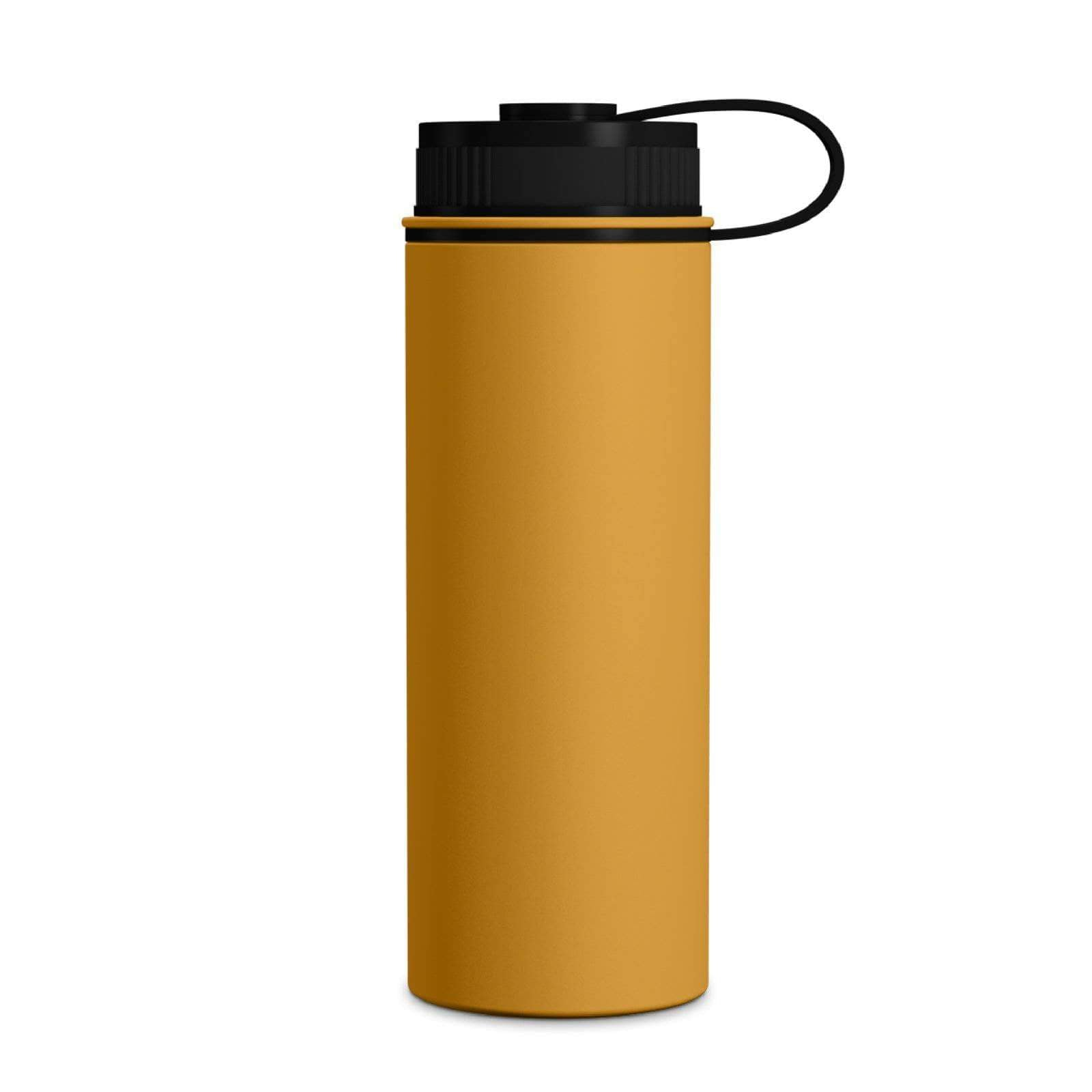 Geo Bottles Mango 18oz Double Wall Vacuum Insulated Flask, Wide Mouth
