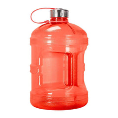 GEO Bottles Red 1 Gallon BPA FREE Bottle w/ Stainless Steel Cap
