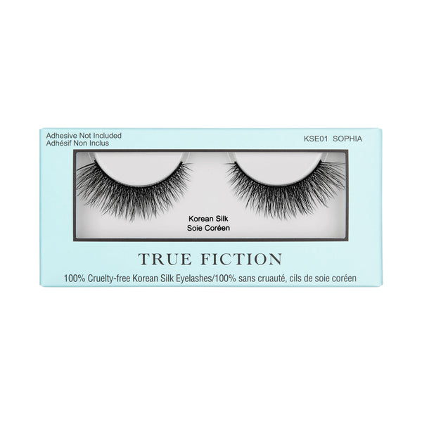 KSE01 KOREAN SILK EYELASHES - SOPHIA