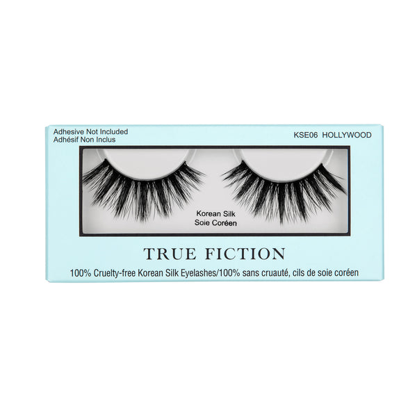 KSE06 KOREAN SILK EYELASHES - HOLLYWOOD