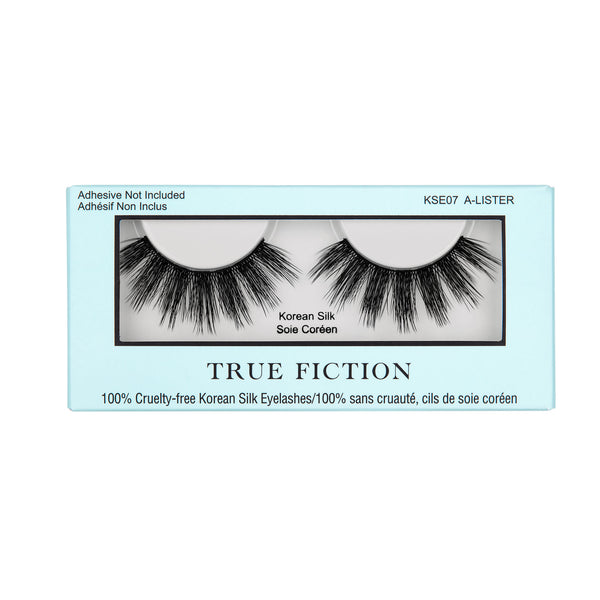 KSE07 KOREAN SILK EYELASHES - A-LISTER