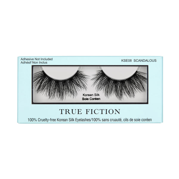 KSE08 KOREAN SILK EYELASHES - SCANDALOUS