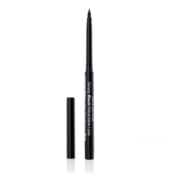 Simply Black Retractable Liner with Sharpener - truefictioncosmetics.com