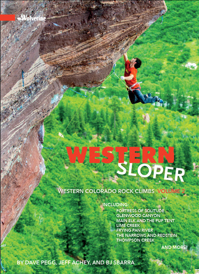 CO, Western Sloper, Western Colorado Rock Climbs Volume 2