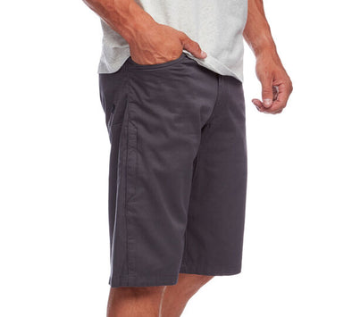 Black Diamond Credo Shorts, Slate, Men's