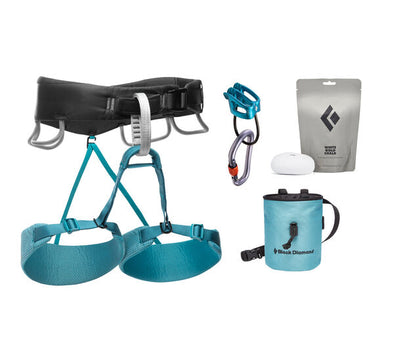 Momentum Women's Harness Package, Aqua Verde
