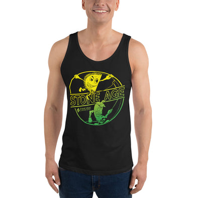 Stone Age Men's Chile & Taco Tank Top - Print on Demand