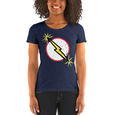 Stone Age Women's Midnight Lightning T-shirt - Print on Demand