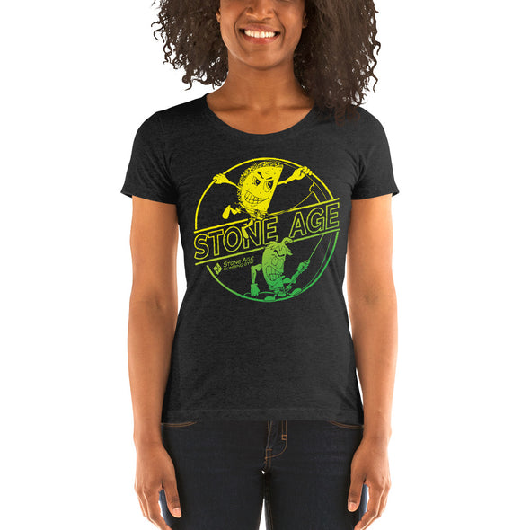 Stone Age Women's Chile & Taco T-shirt - Print on Demand