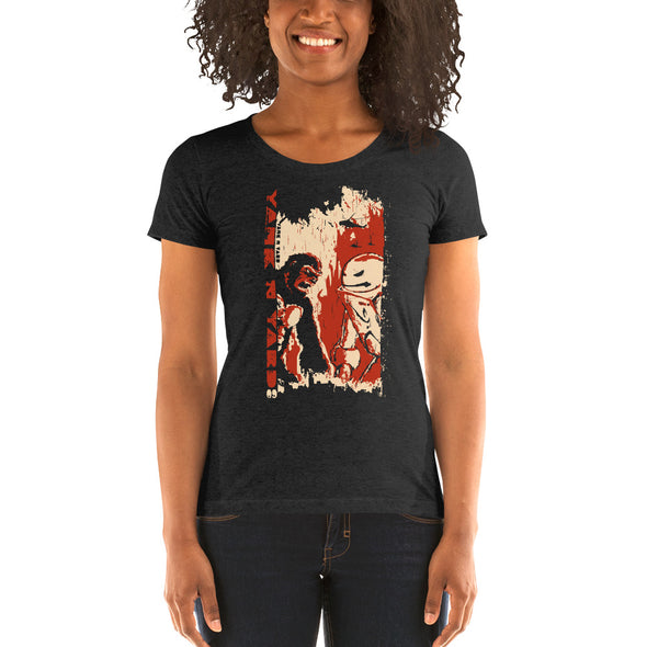 Stone Age Women's '09 YNY T-shirt - Print on Demand