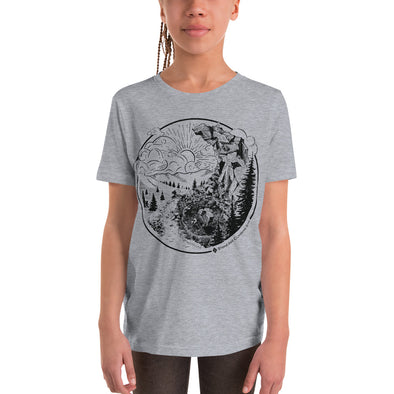 Stone Age Youth Yin Yang T-Shirt - Print on Demand
