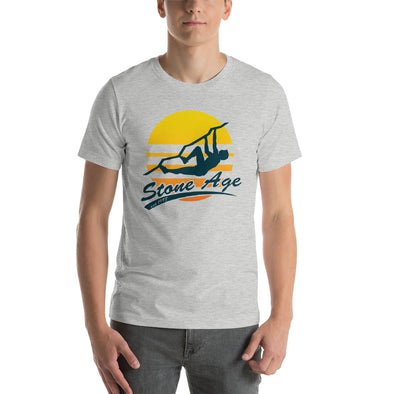 Stone Age Men's Retro Logo T-Shirt - Print on Demand