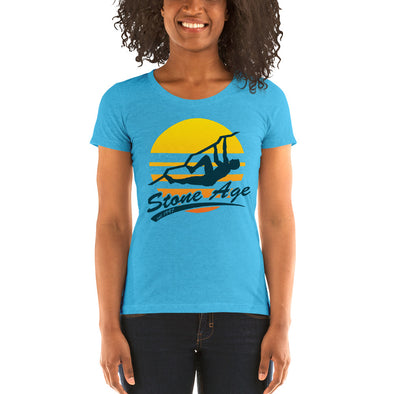 Stone Age Women's Retro Logo T-shirt -Print on Demand