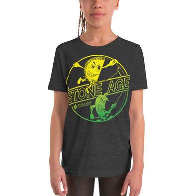 Stone Age Youth Chile & Taco T-Shirt - Print on Demand