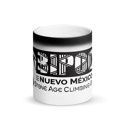 Fundraising BIPOC Matte Black Magic Mug