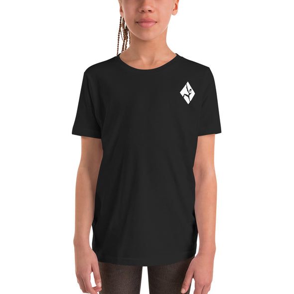 Stone Age Youth Zia Skelton T-Shirt - Print on Demand