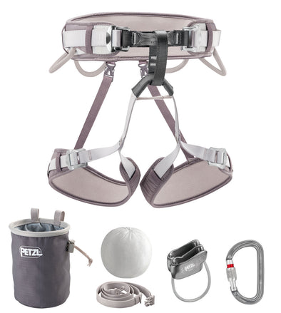 Corax Kit (harness, belay system, chalkbag/ckalk)