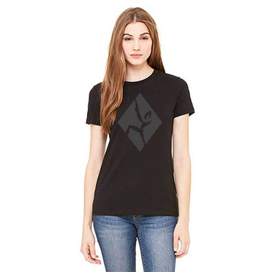 Women's black out climber shirt