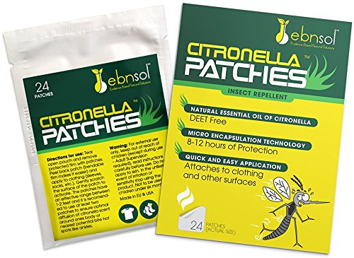 Citronella Patches