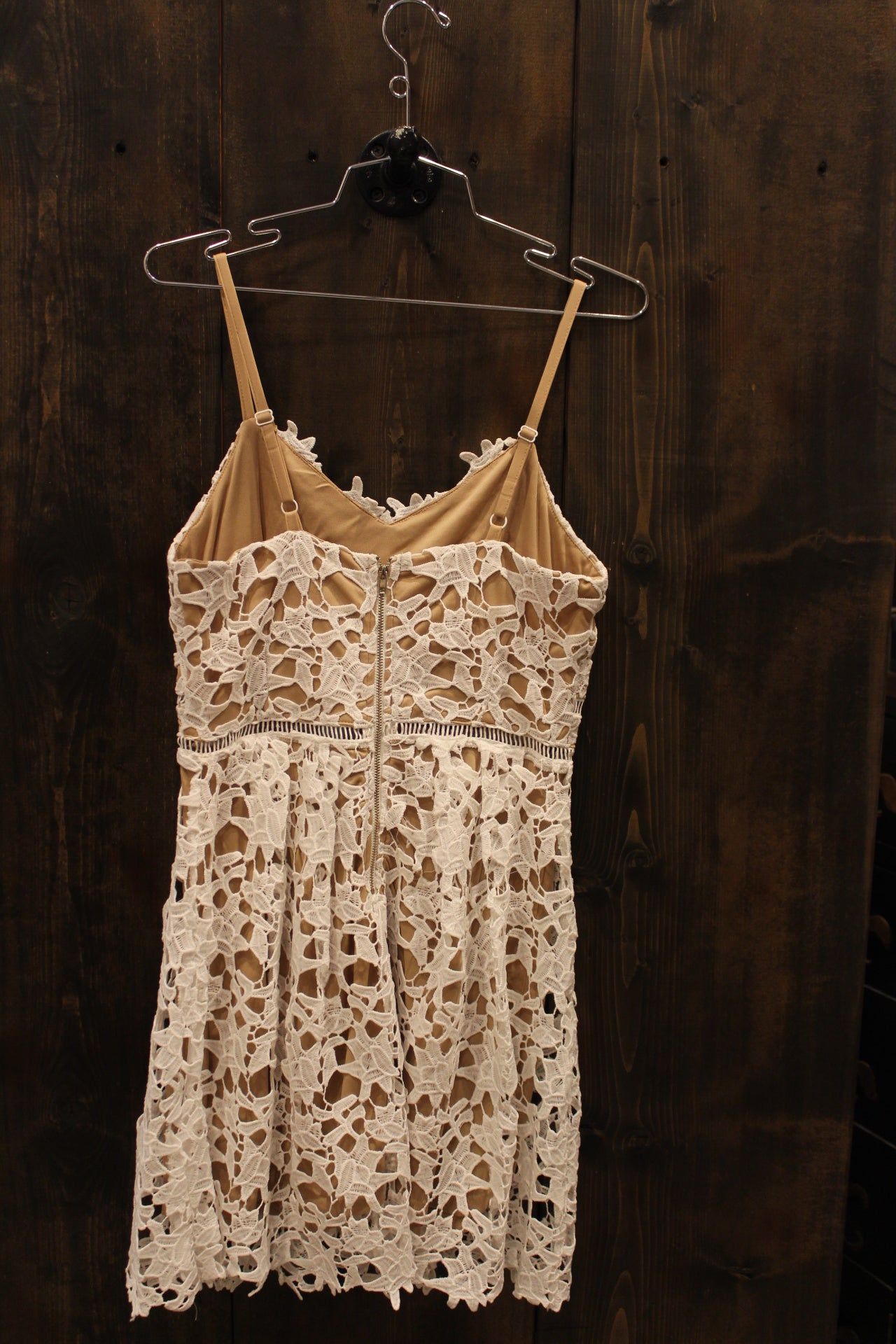 Sweetheart Crochet Dress