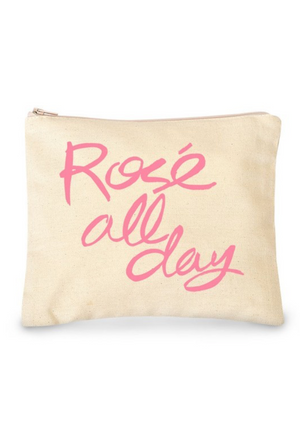 Rośe All Day Make Up Bag  - Canvas