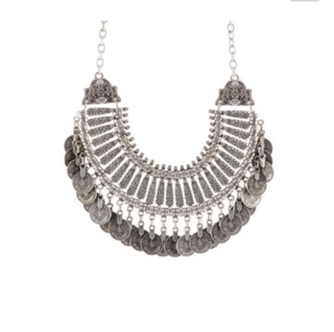 Coin Tribal Necklace