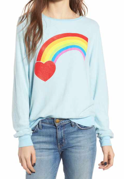 Dream Scene Rainbow Bright Pull-Over