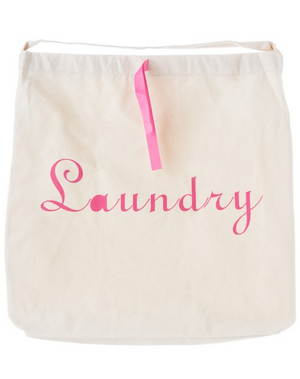 Dirty Girl Canvas Laundry Bag