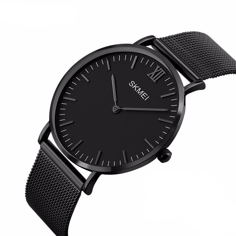 SKMEI Flat Faced Blackout Watch // Modern Aesthetic