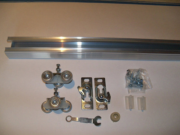 Series 2 HBP HEAVY DUTY Pocket Door Track and Hardware Kit 5-Pack