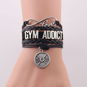 Bracelets for women men Fitness hobby jewelry