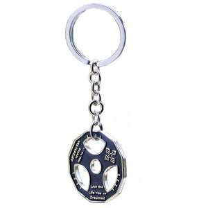 Keychain Bodybuilding  Motivation Jewelry